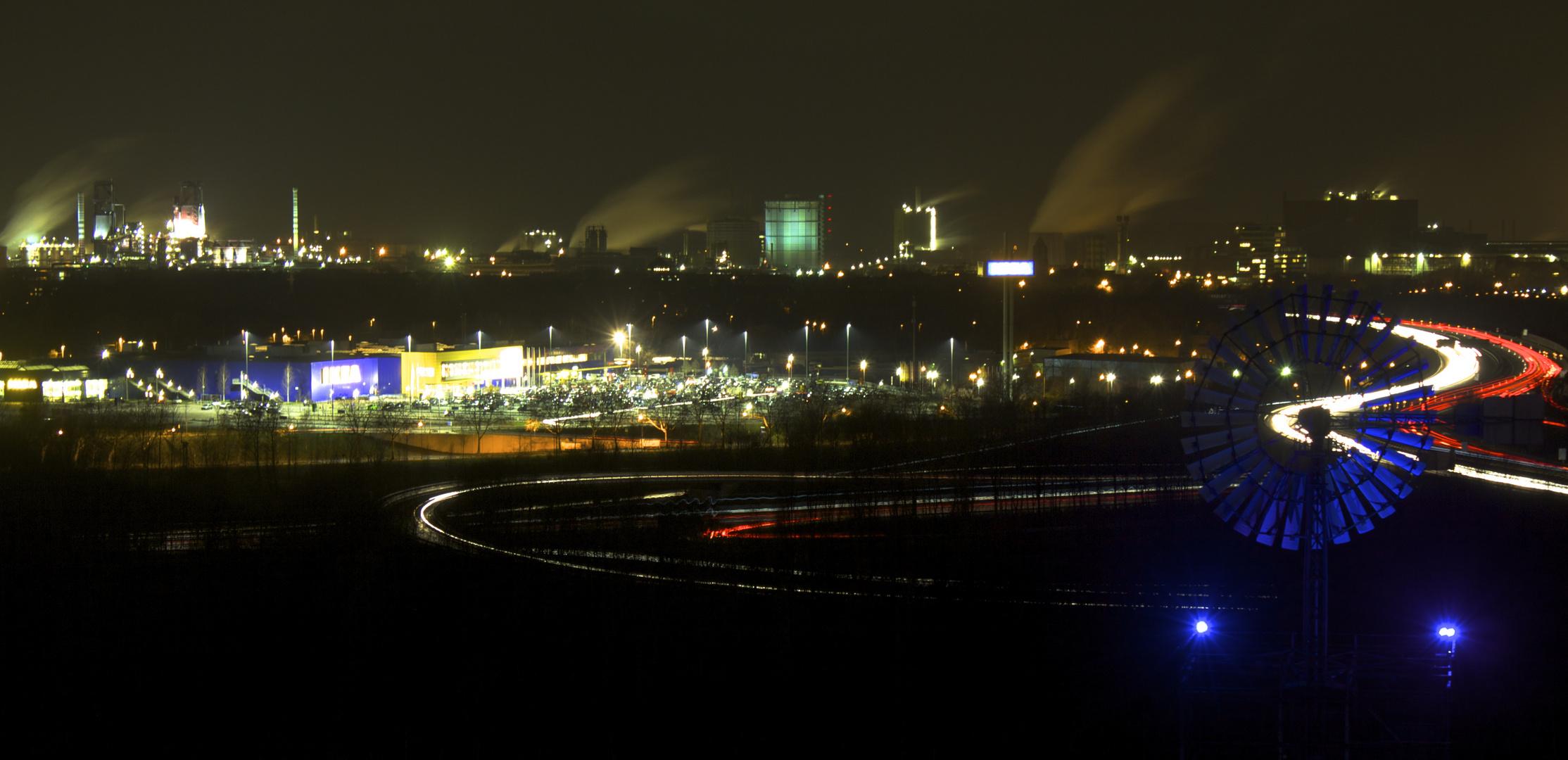 Lichtermeer Duisburg