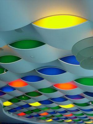 Lichtermeer im Burj Al Arab