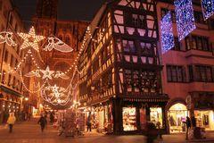 Lichtermeer in der Adventszeit