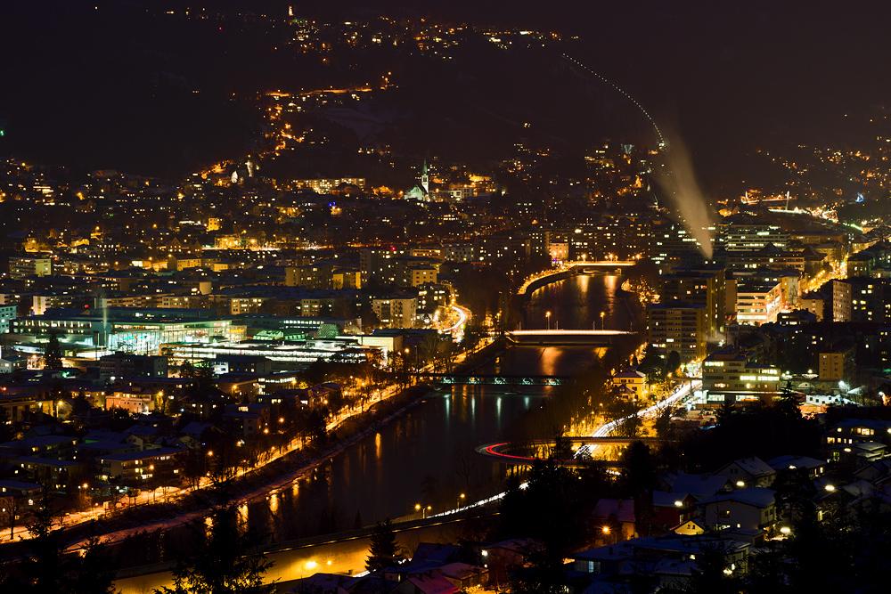 Lichtermeer Innsbruck