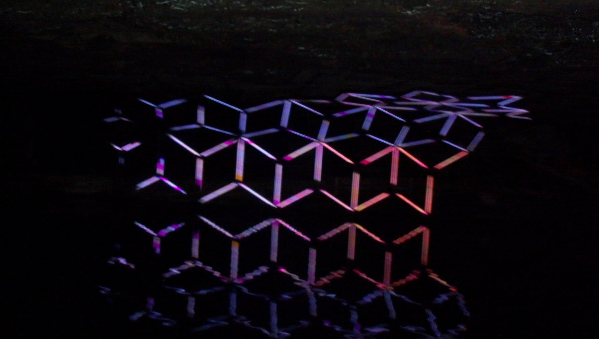 Lichterspiel im Salzbauwerk Berchtesgarden