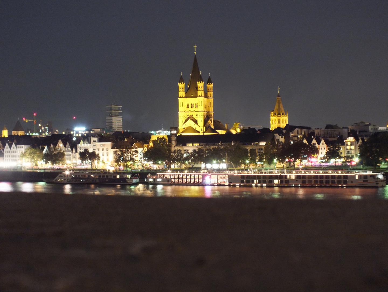Lichterspiel in Köln