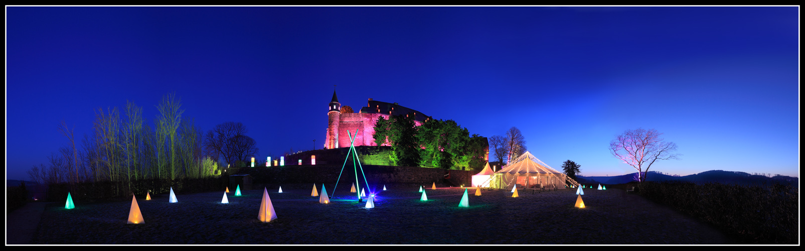 Lichterspiele am Schloss Hohenlimburg
