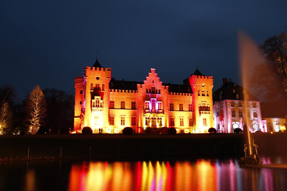 Lichterzauber am Schloss Herdringen 1