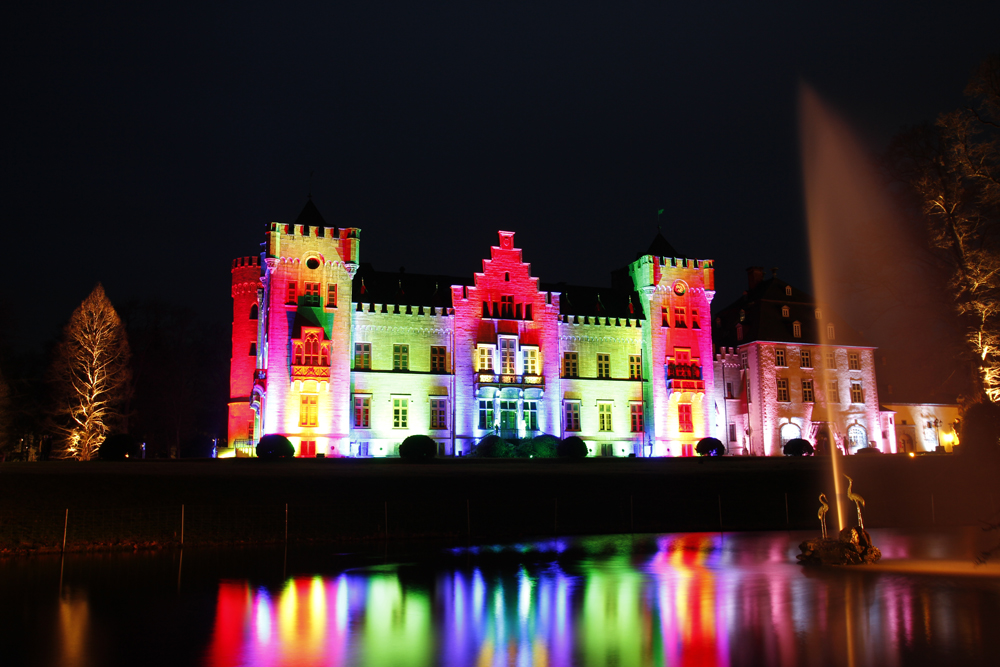 Lichterzauber am Schloss Herdringen 3
