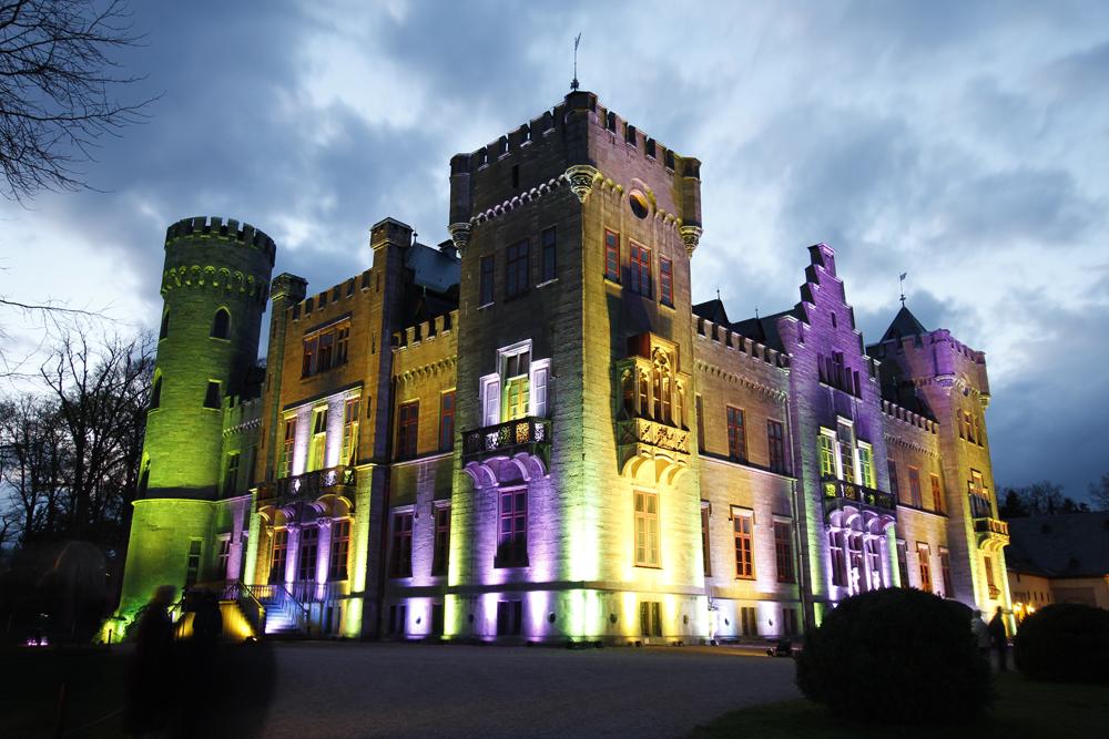 Lichterzauber am Schloss Herdringen 7