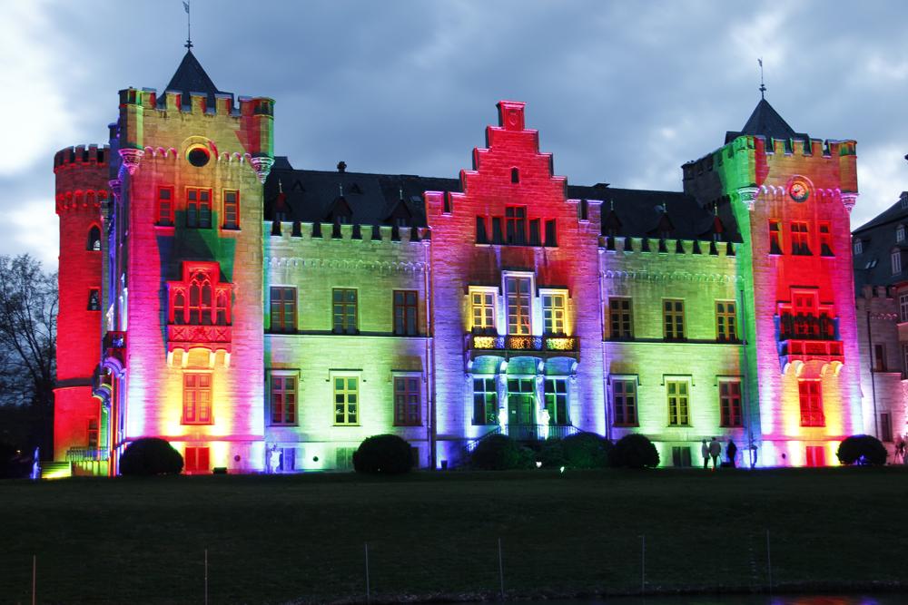 Lichterzauber am Schloss Herdringen 8