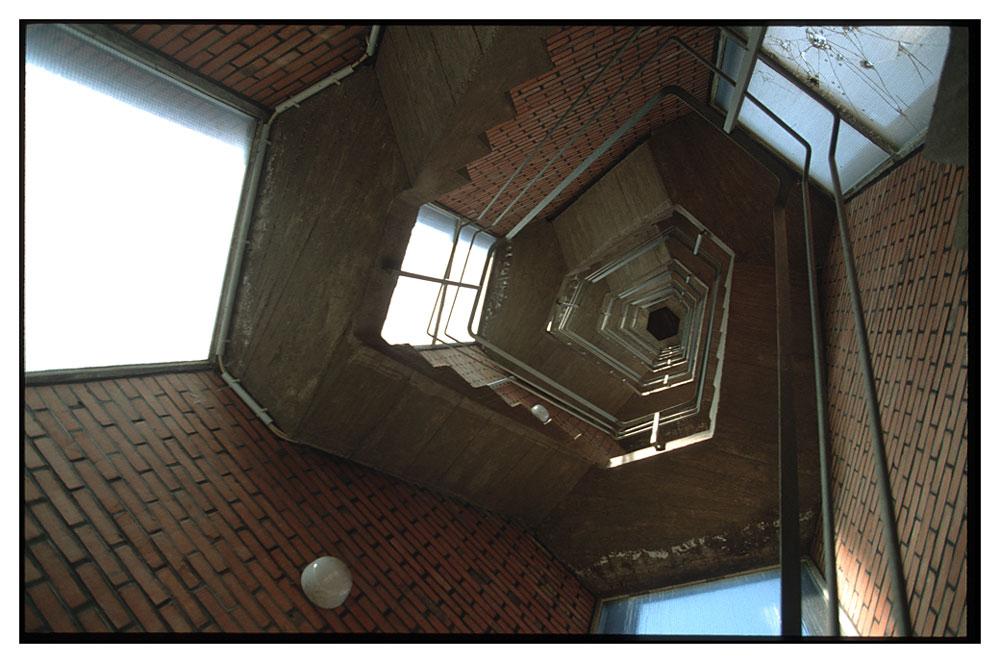 Lichtes Treppenhaus