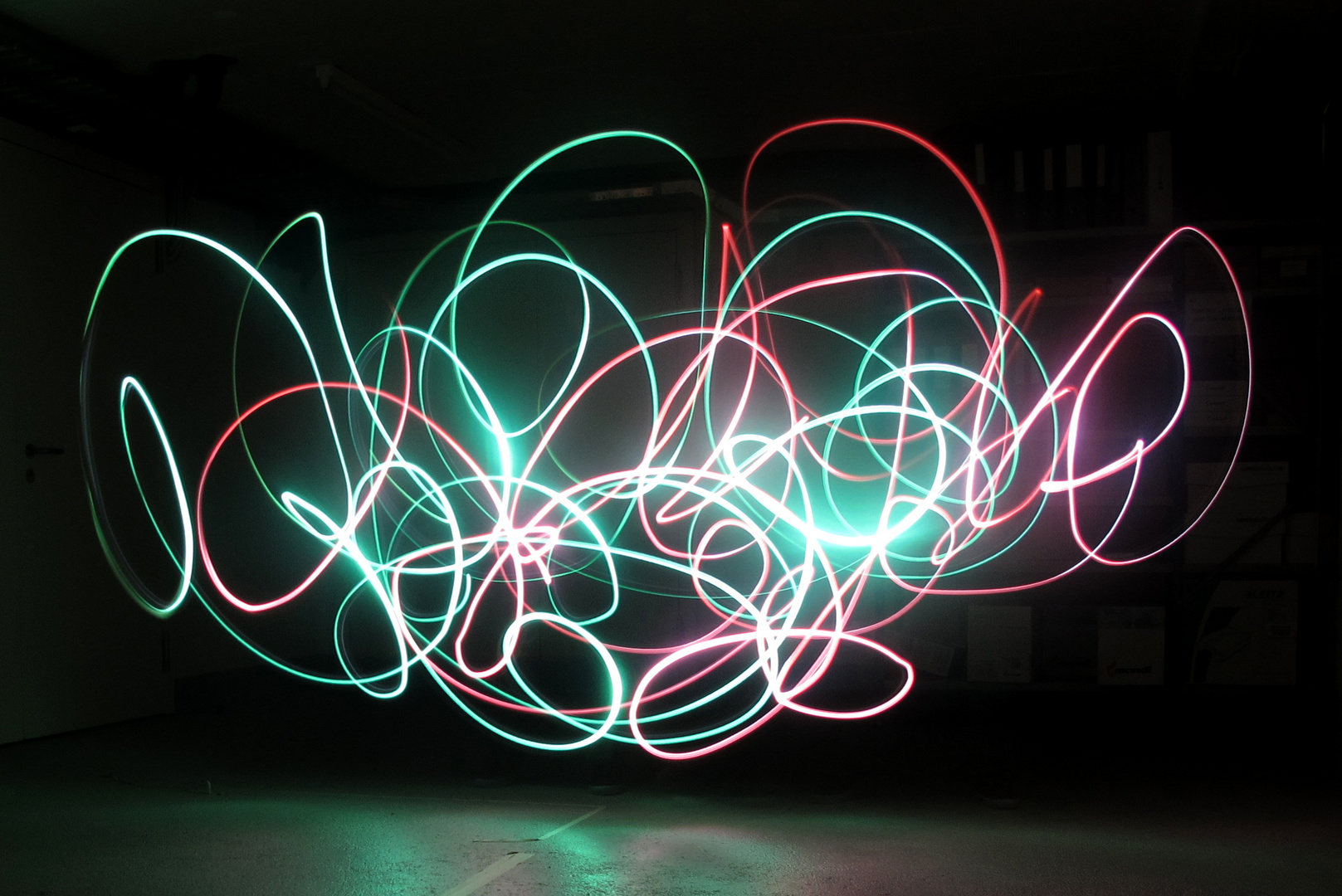 Lichtgraffiti...