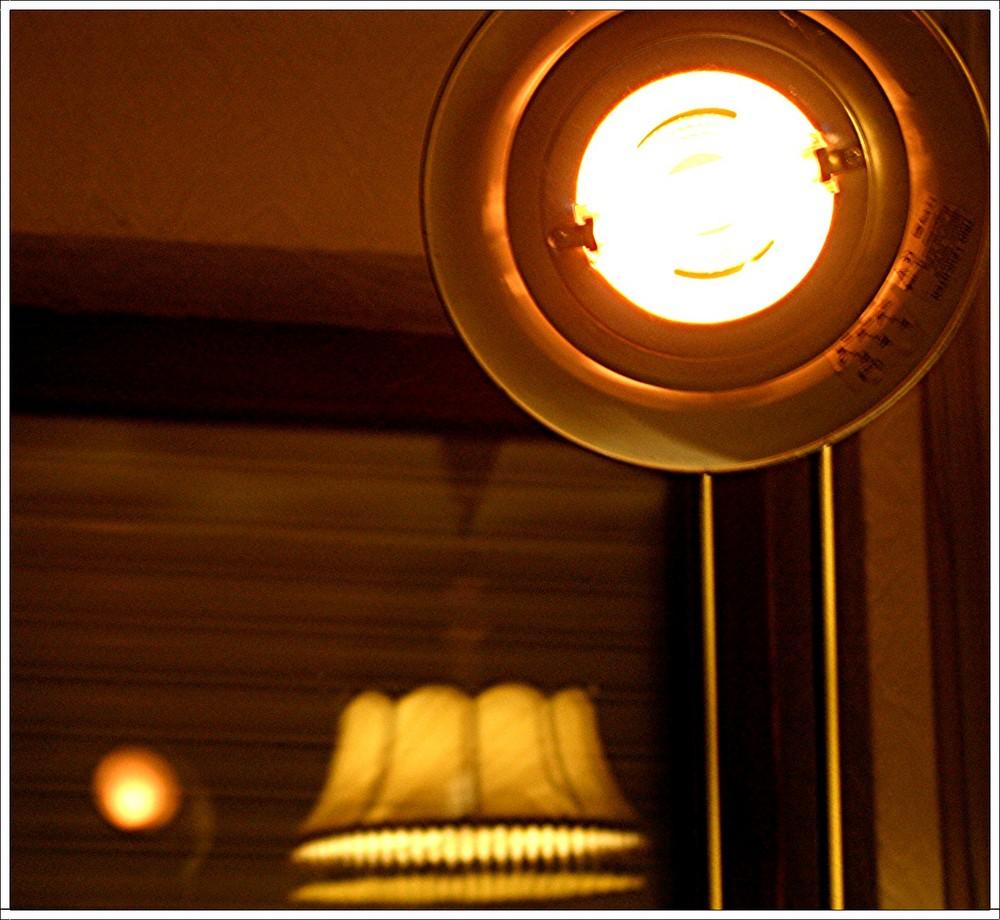 Lichtkonzert im Fernsehzimmer