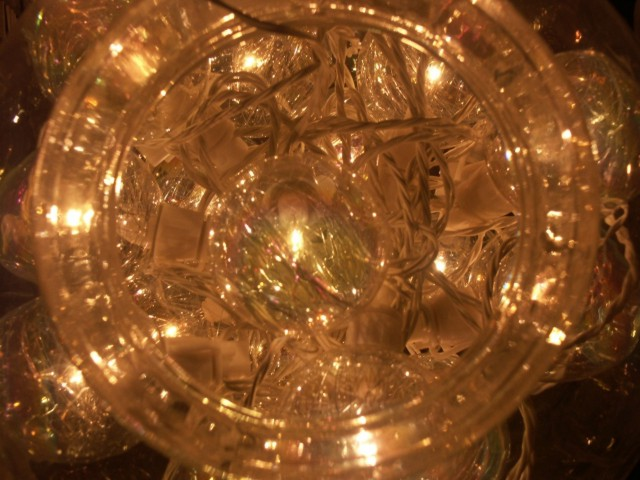 Lichtkugel...