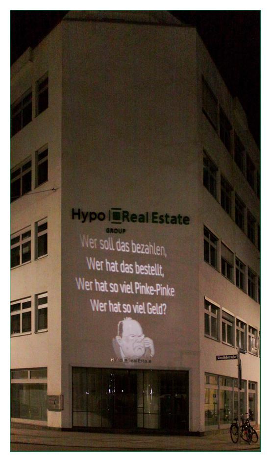 Lichtkunst und Hypo Real Estate