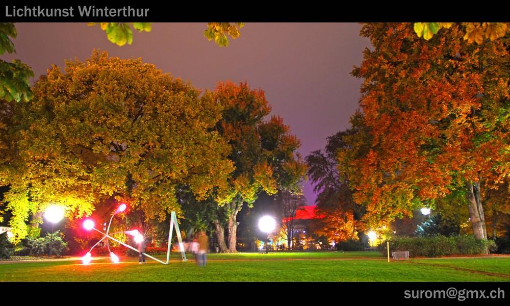Lichtkunst Winterthur