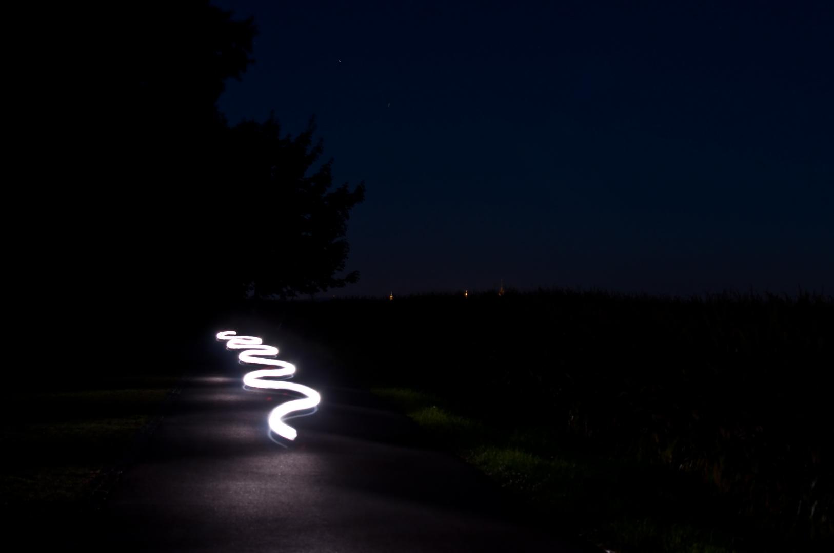 Lichtschlange