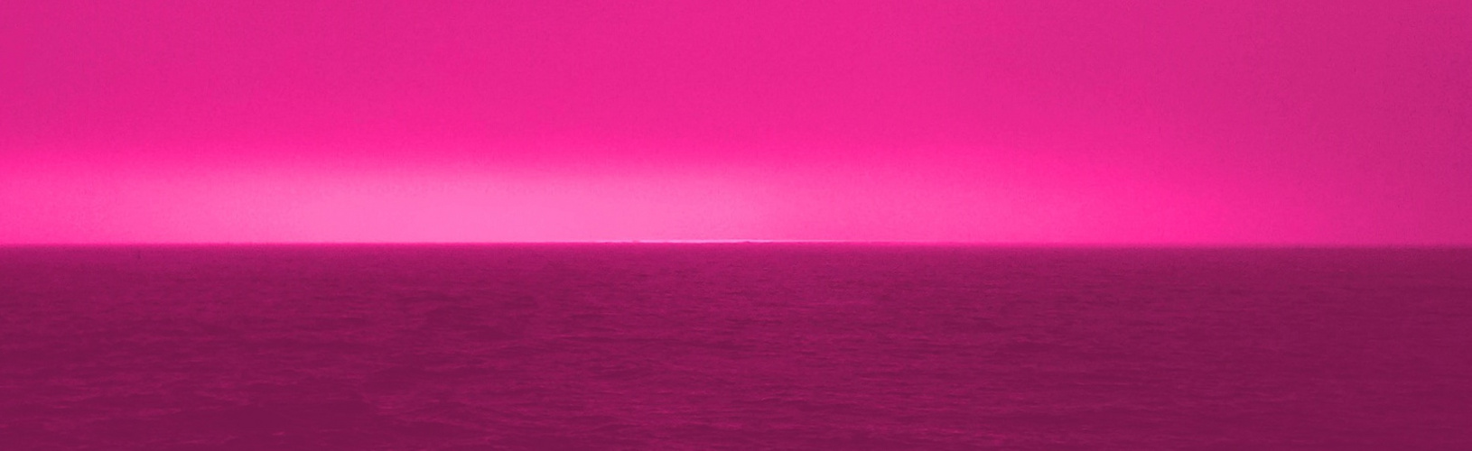 Lichtspiegelung auf der Nordsee
