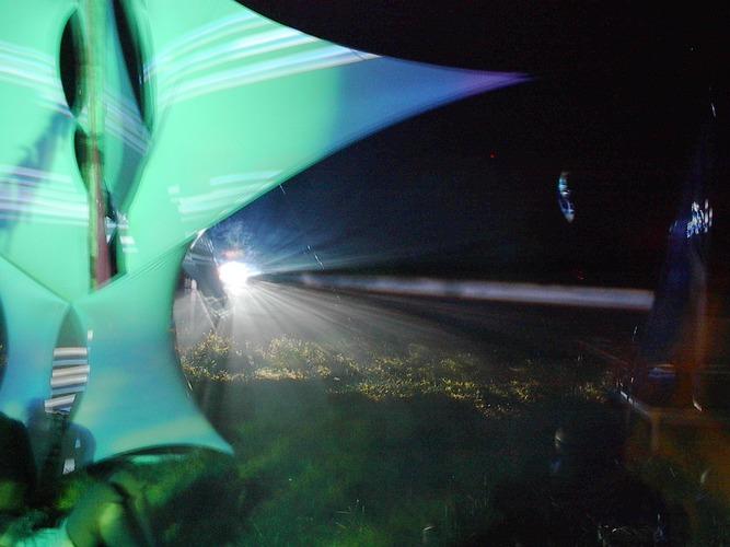 Lichtspiegelungen
