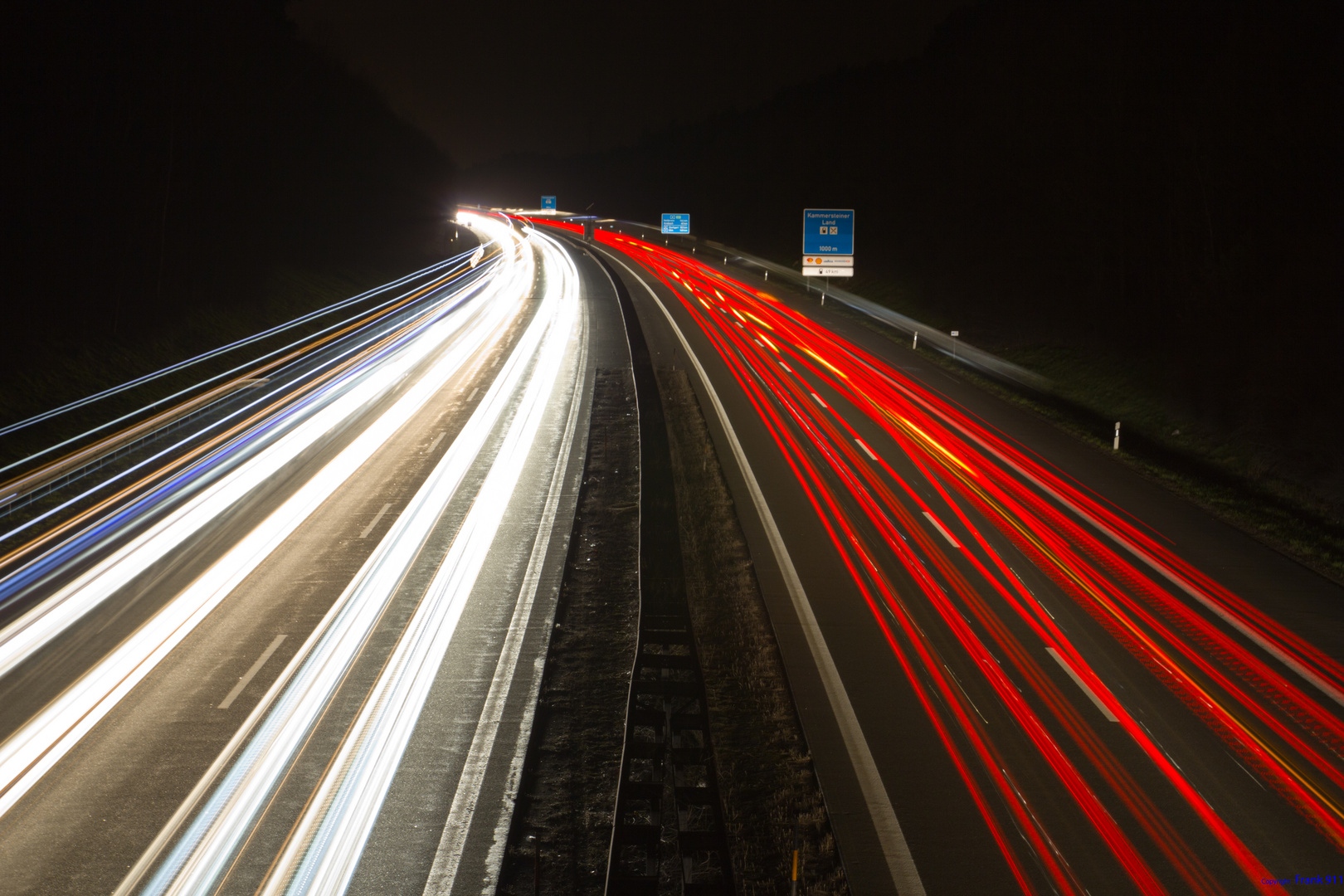Lichtspiel der Autobahn (2)