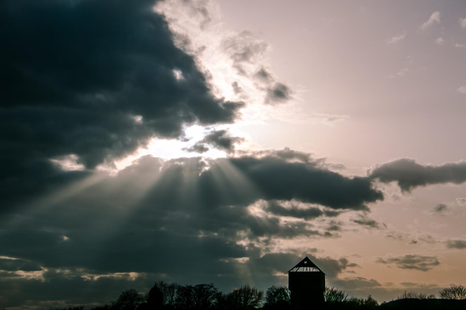 Lichtspiel der Sonne