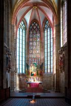 Lichtspiel im Meißner Dom