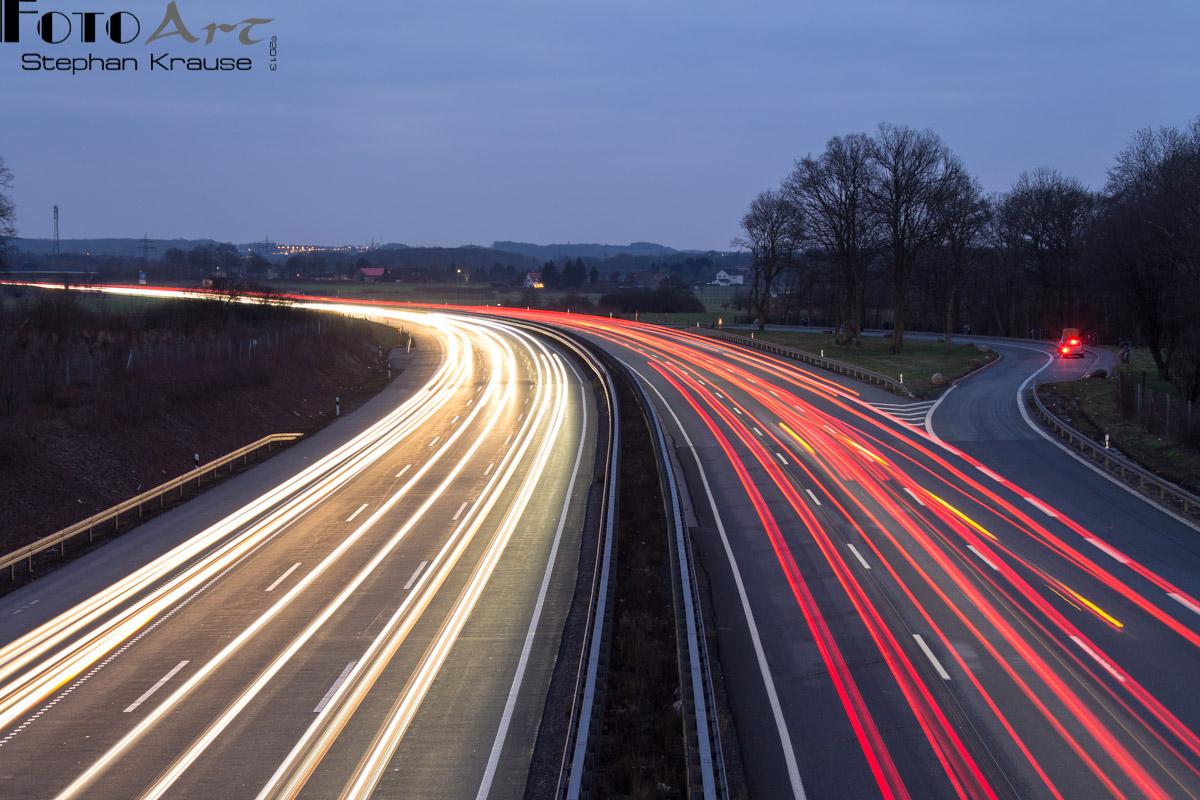 Lichtspiele 2013 - A2 bei Hamm