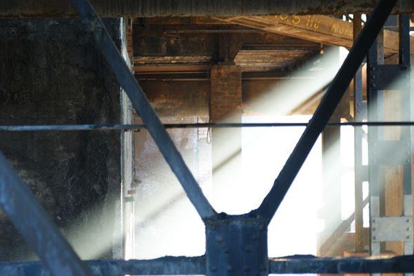 Lichtspiele am alten Stahlwerk