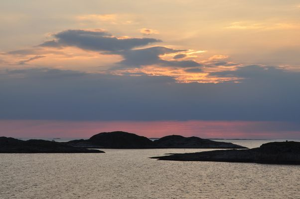 Lichtspiele am Himmel Norwegens