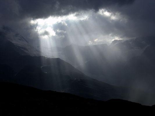 Lichtspiele am Matterhorn