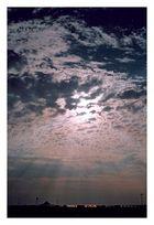 Lichtspiele am Morgen am Strand von Caorle