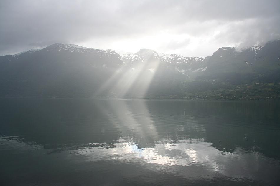 Lichtspiele am Sörfjorden