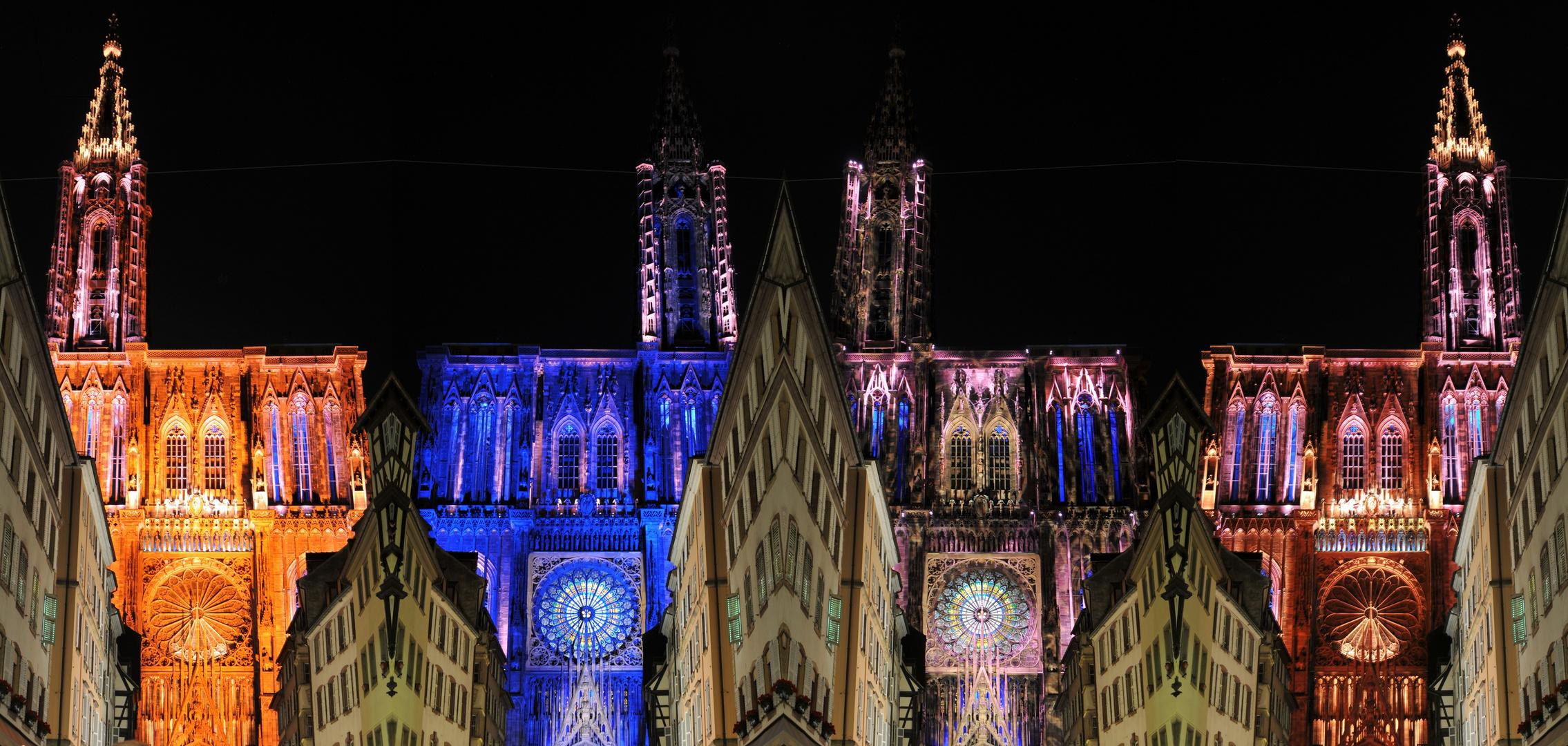 Lichtspiele an der Kathedrale