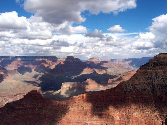 Lichtspiele der Wolken im Grand Canyon