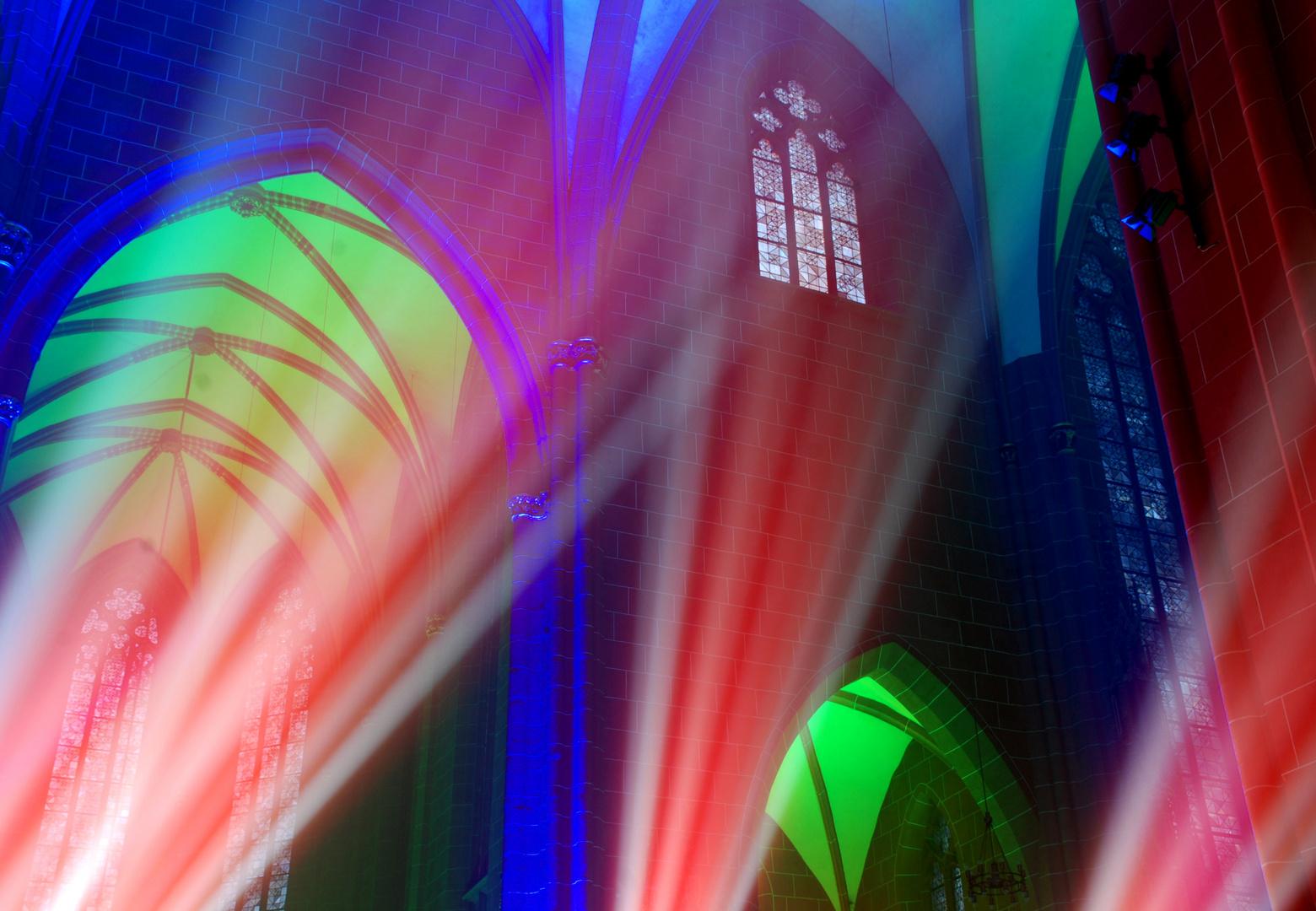 Lichtspiele im Dom
