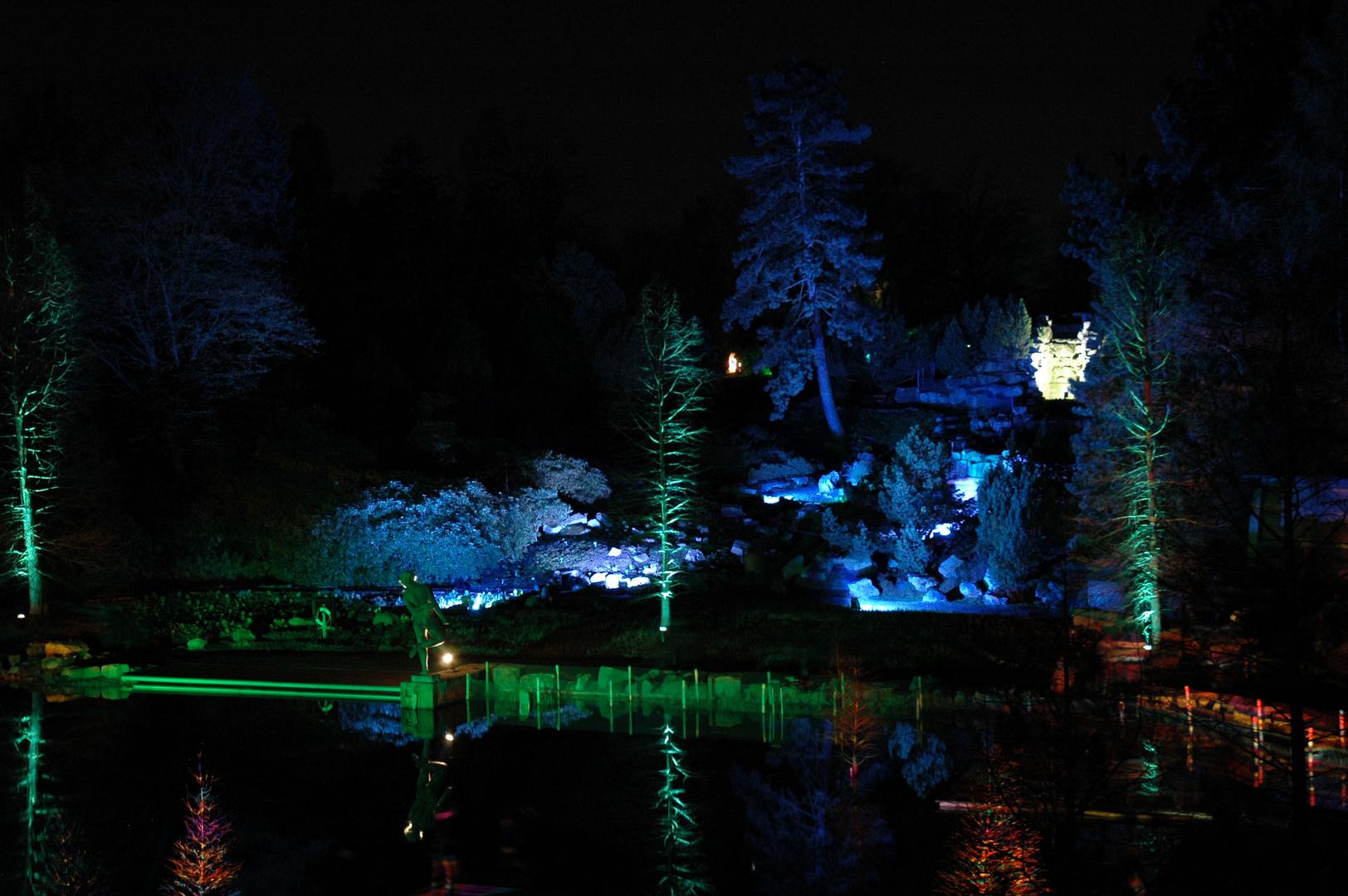 Lichtspiele in der Gruga