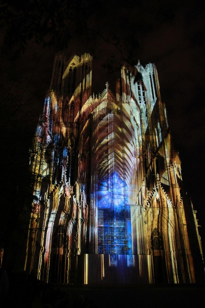 Lichtspiele in Reims