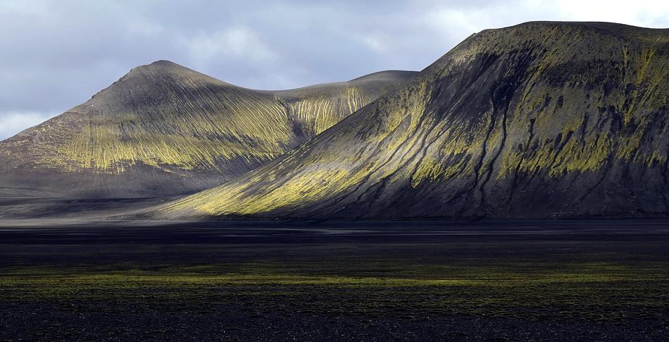 Lichtspots auf den Moosbergen….