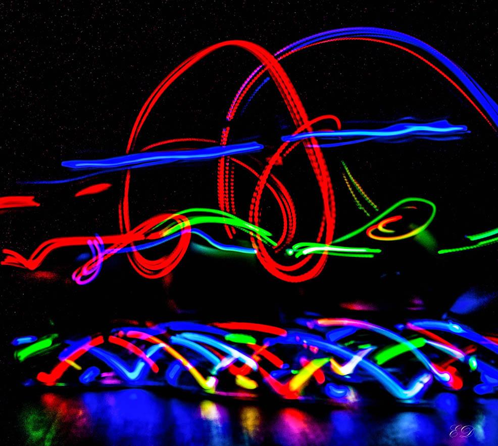 Lichtspuren Ratz Fatz Bochum 1
