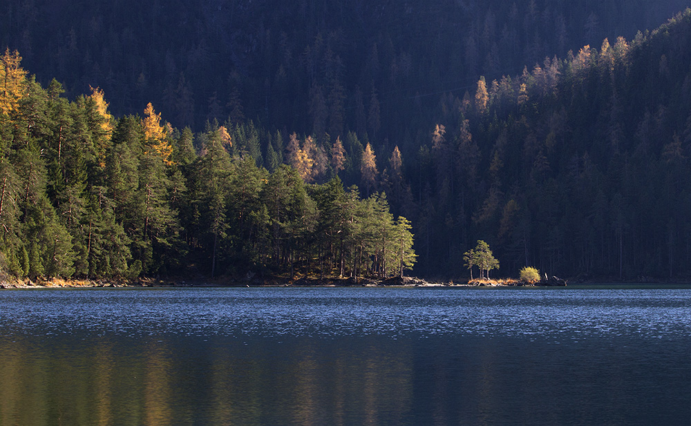 Lichtstimmung am Blindsee