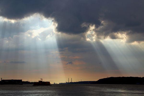 Lichtstimmung an der Elbe