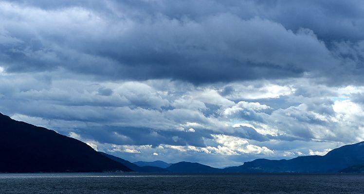 Lichtstimmung - Hardangerfjord