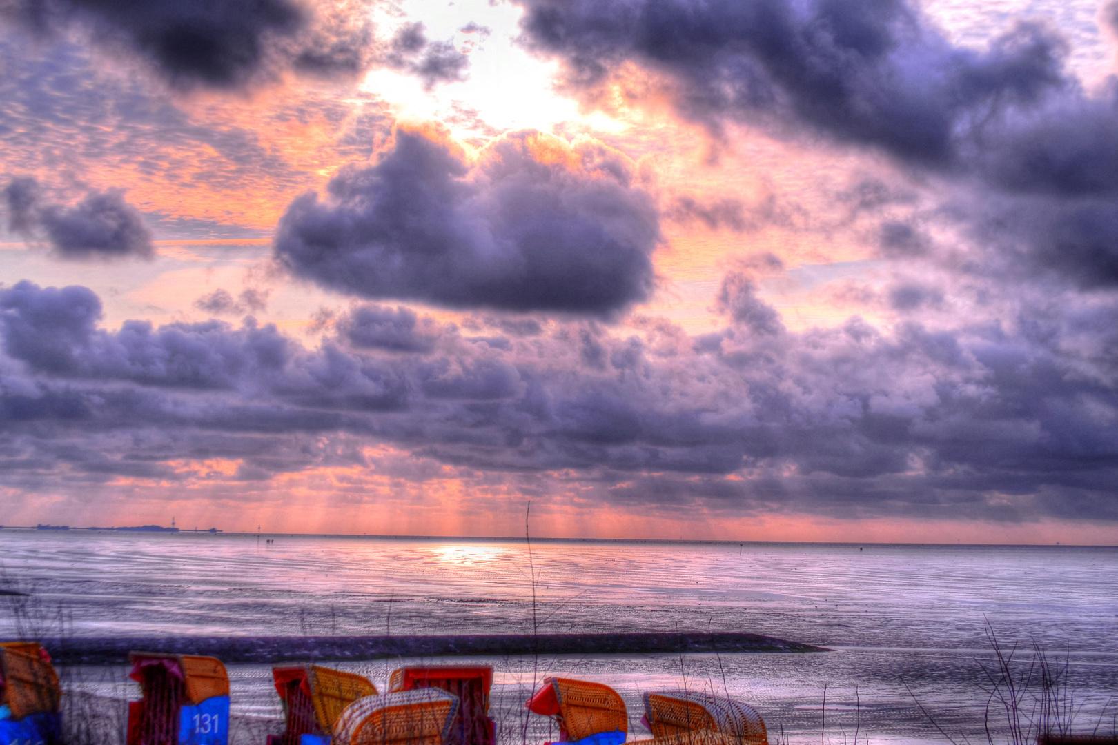 Lichtstimmung vor Cuxhaven