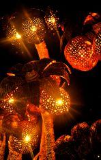 Lichtvolles auf dem kleinen Weihnachtsmarkt in Bad Canstatt