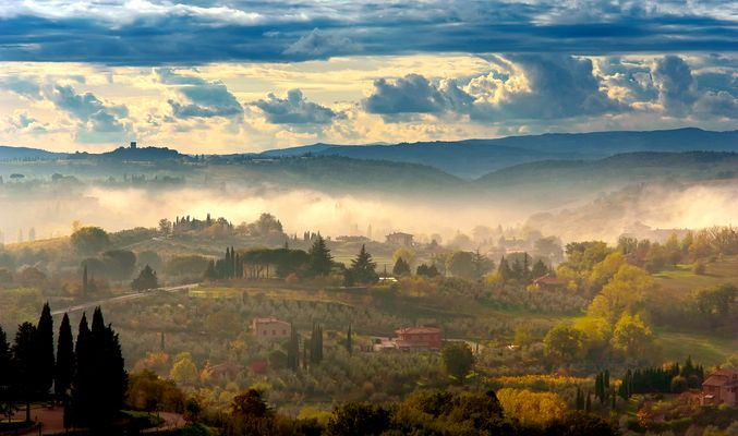 Lichtwunder im Valdichiana - Toskana