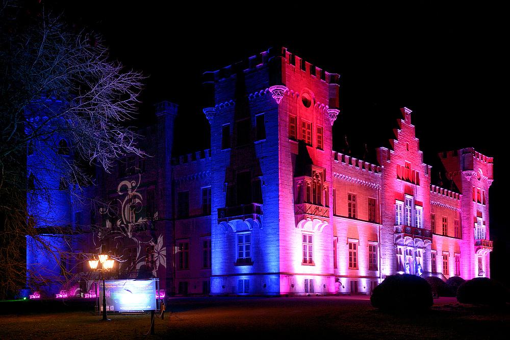 Lichtzauber 2013 auf Jagdschloss, Herdringen