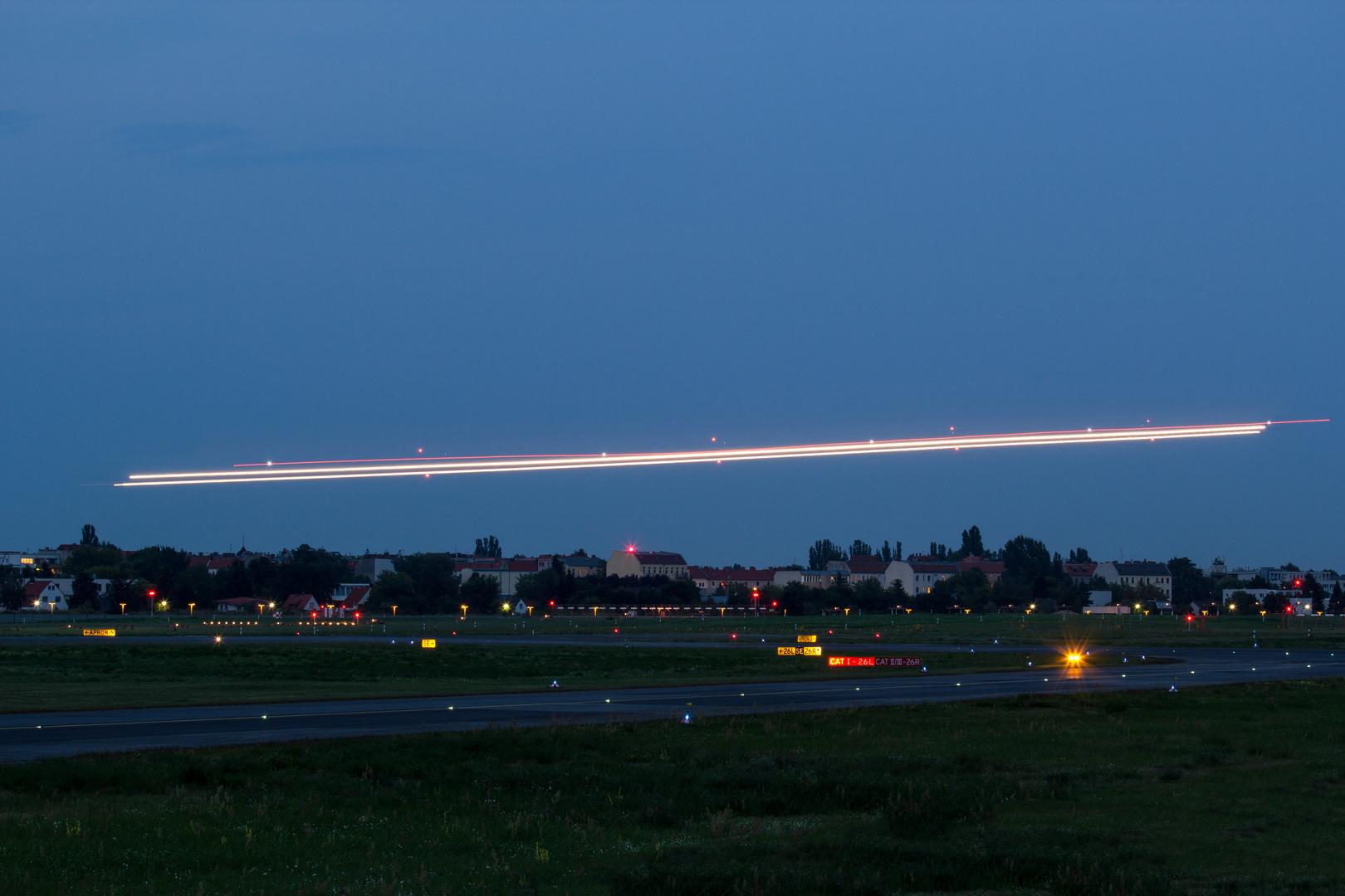 Lichtzieher Flugplatz