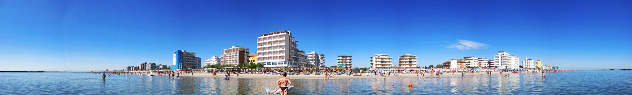 Lido di Savio Strand Panorama