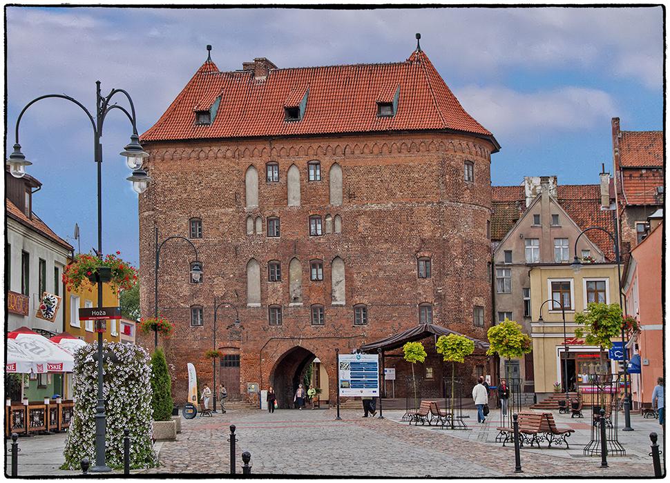Lidzbark Warminski : Das hohe Tor