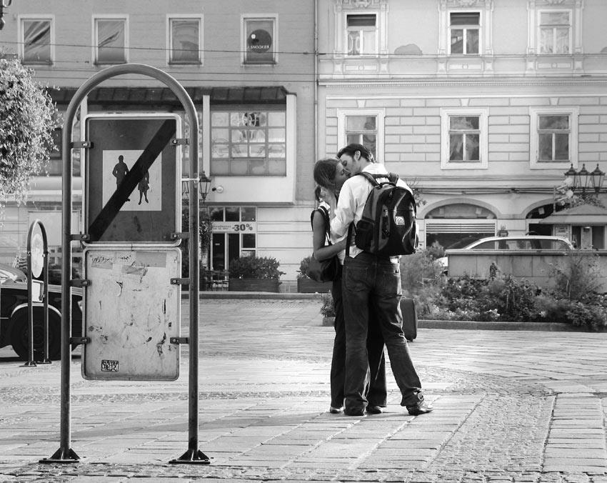 Liebe am Morgen von Otto Grün