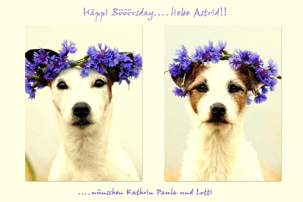 Liebe Astrid.....