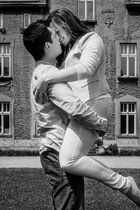 Liebe, auf Schwarz & Weiß