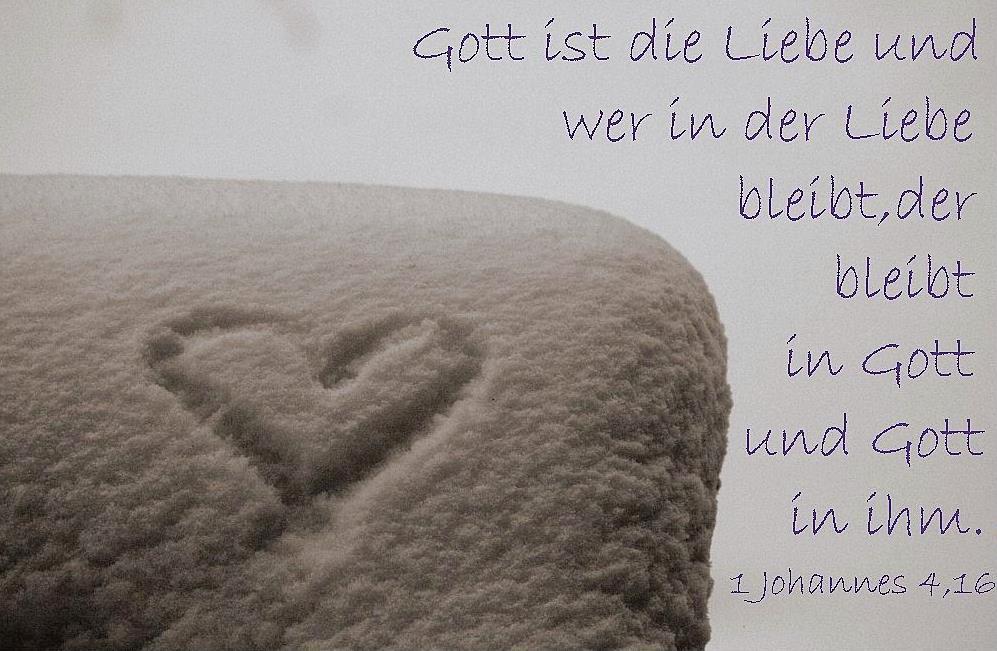 Liebe hat Auswirkung.